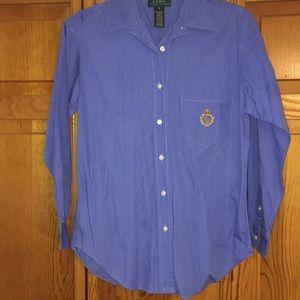 Ralph Lauren blue button down